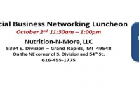 Nutrition-N-More Social Business Networking Luncheon