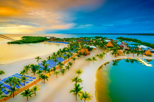 New Island Destination – Harvest Caye