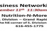 Sep 11- Social Business Network Luncheon at Nutrition-N-More